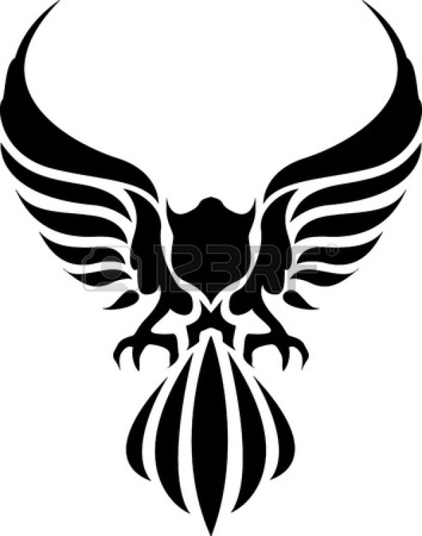 American Eagle Clip Art Black And White Clipart Panda