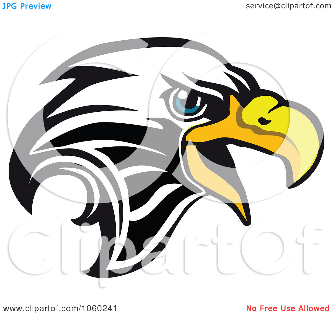 hight resolution of american eagle head clipart