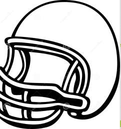 american football clipart black and white [ 1379 x 1300 Pixel ]