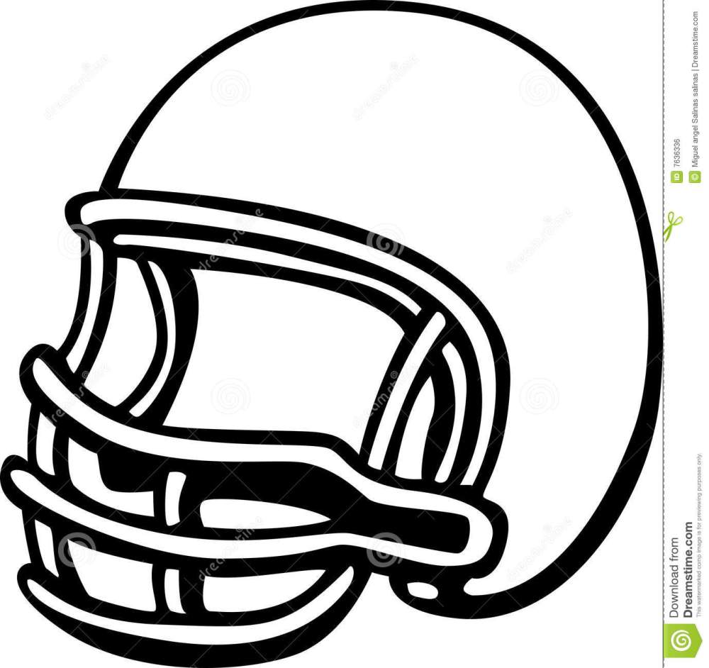 medium resolution of american football clipart black and white