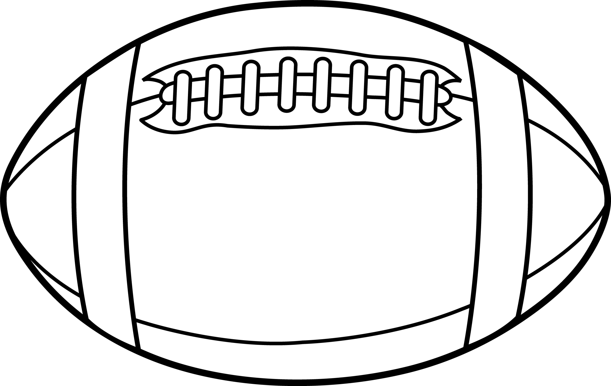 hight resolution of american football clipart black and white