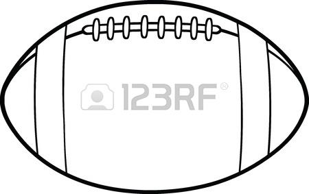 american football vector black