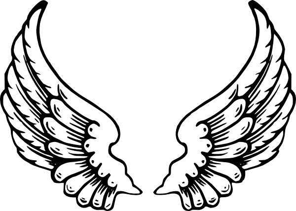 20 Angel Wings Clip Art Microsoft Ideas And Designs