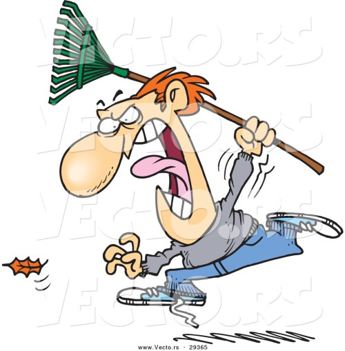 small resolution of angry person clip art