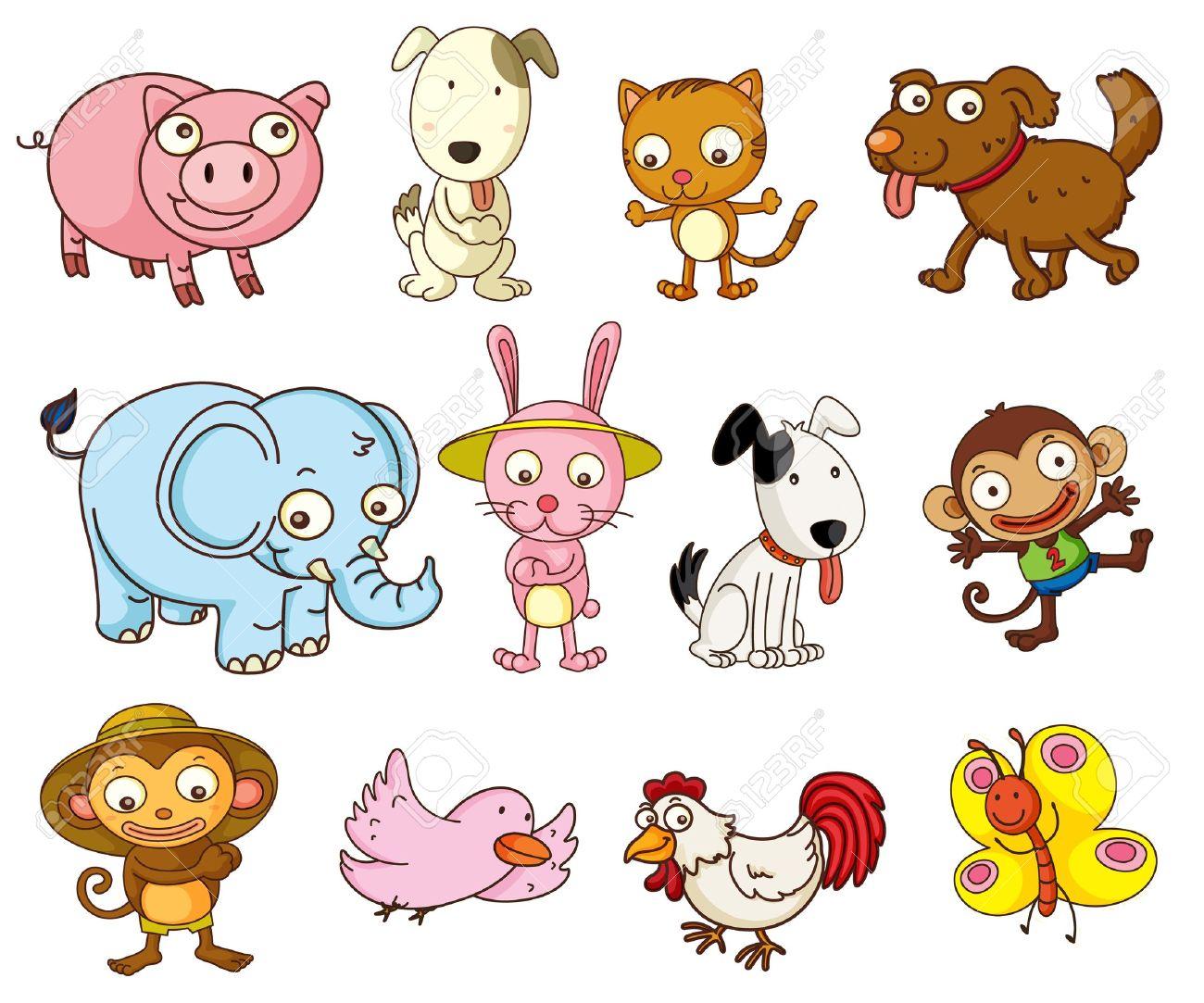 Resultado de imagen para clip art animales