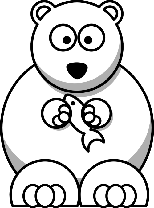 small resolution of animal clipart black and white