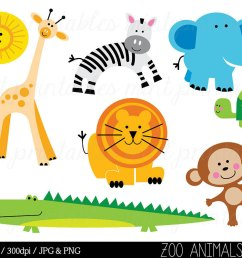 animal clipart zoo clipart [ 1000 x 800 Pixel ]