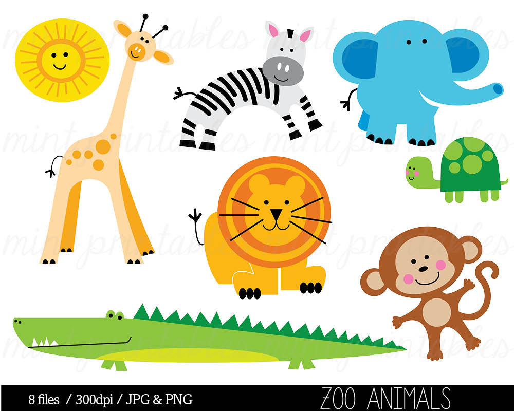 hight resolution of animal clipart zoo clipart