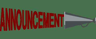 announcement clip art free