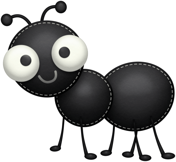 ant clipart panda - free