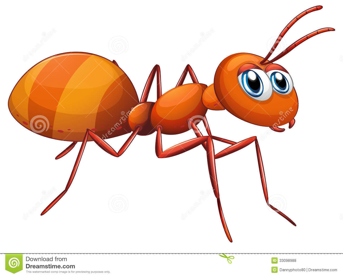 hight resolution of ant clipart
