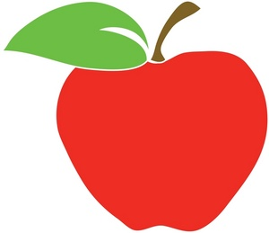 school apple clip art clipart