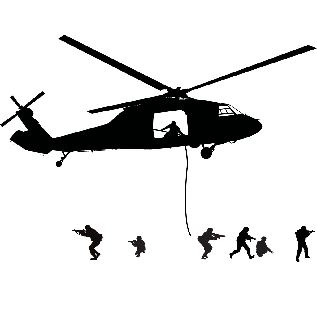 Uh 60 Black Hawk Silhouette