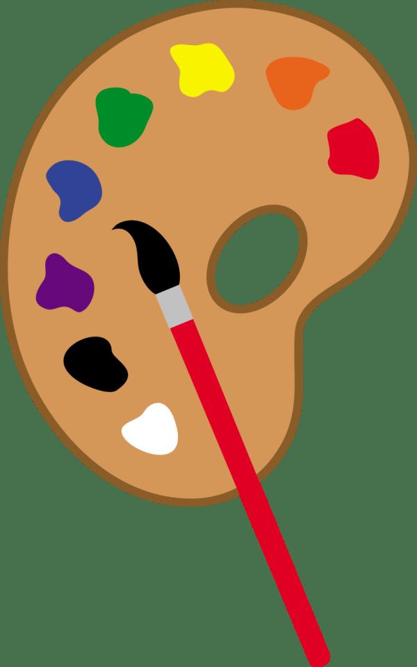 Artist Clip Art Paint Dabbing Clipart Panda - Free