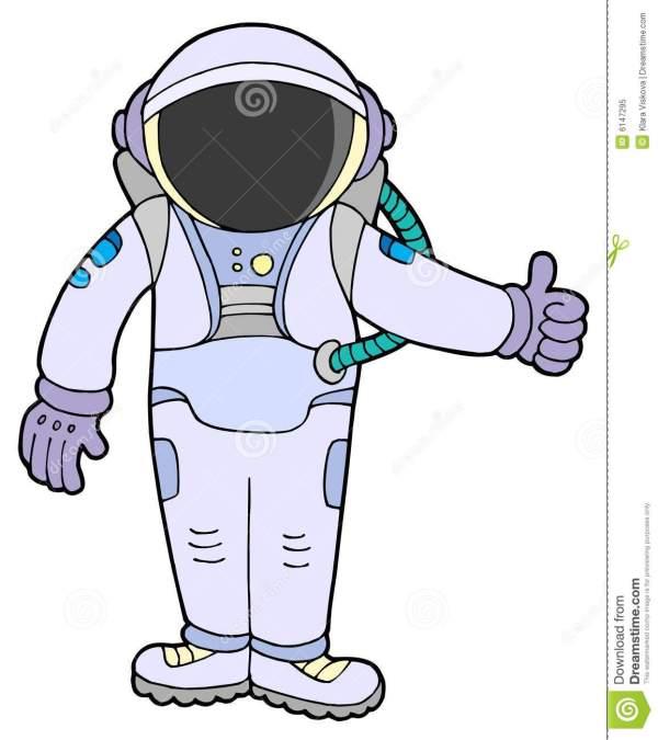 astronaut clipart panda