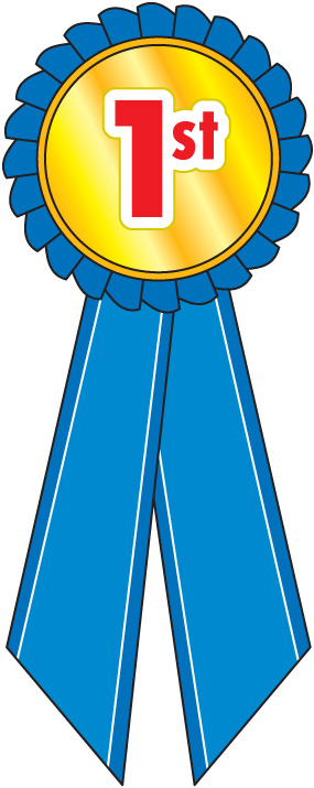 1st place award ribbon clipart