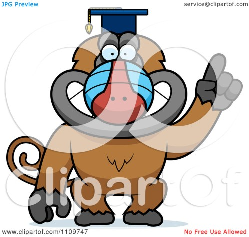 small resolution of baboon clipart