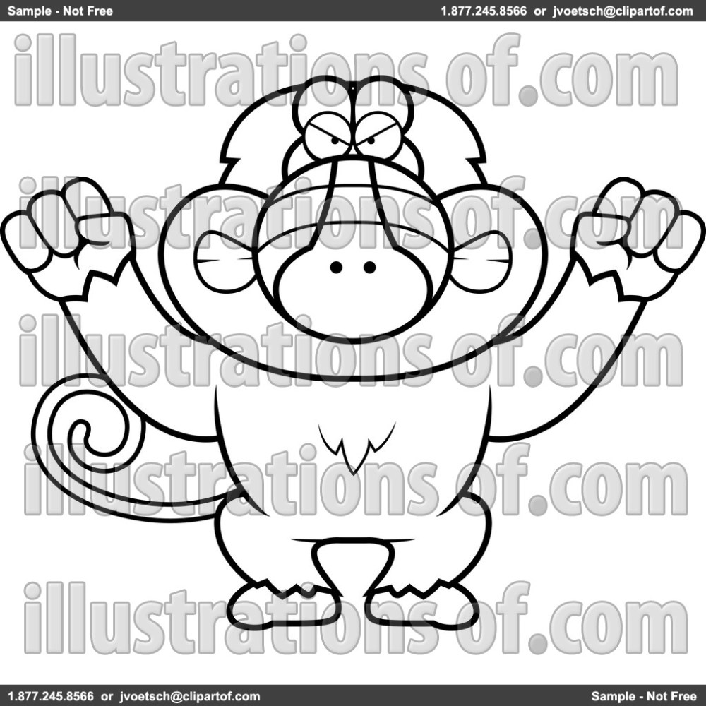 medium resolution of baboon clipart rf baboon clipart