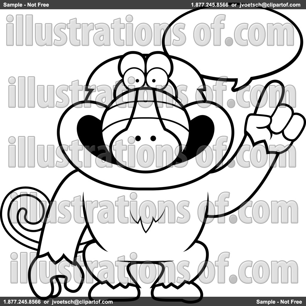 hight resolution of baboon clipart rf baboon clipart