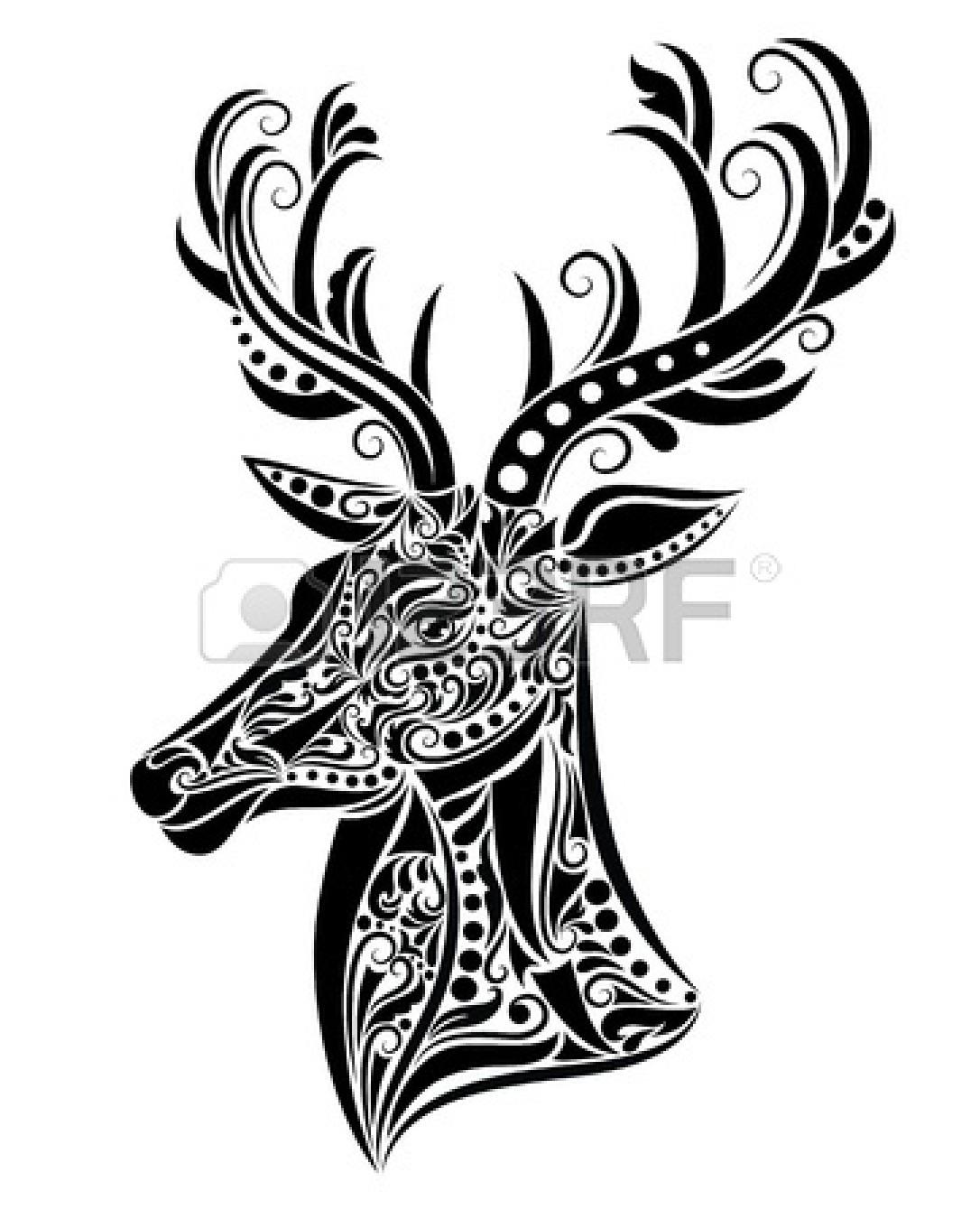 Baby Deer Silhouette Clip Art Clipart Panda