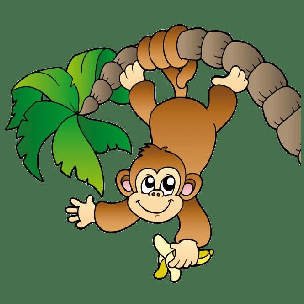 baby monkey face clip art clipart