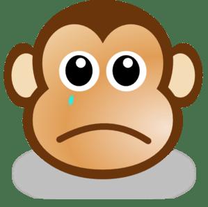 Baby Monkey Face Clip Art Clipart Panda Free Clipart