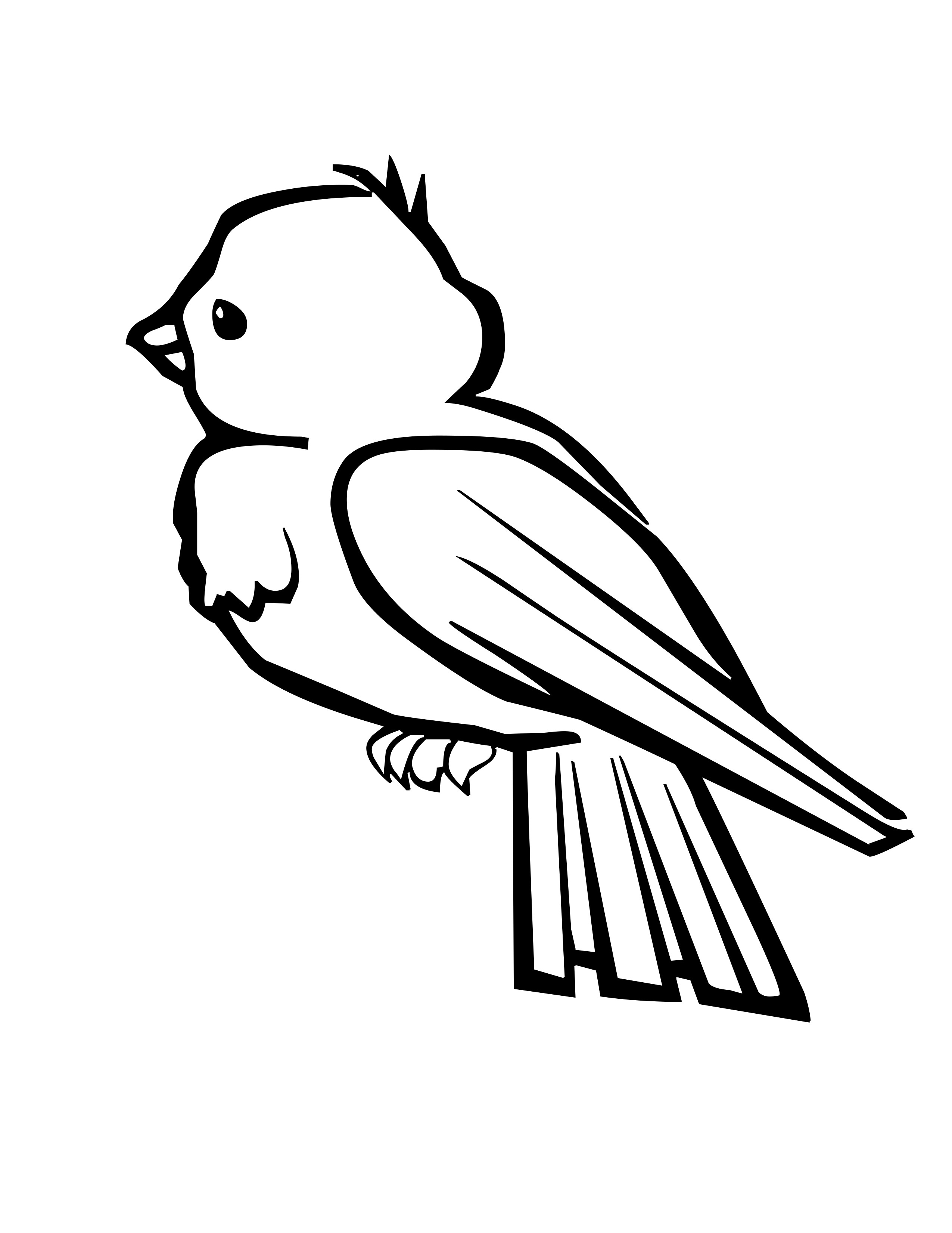 Baby Peacock Coloring Pages Clipart Panda