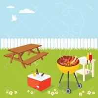 Backyard Bbq Party Clipart | www.imgkid.com - The Image ...