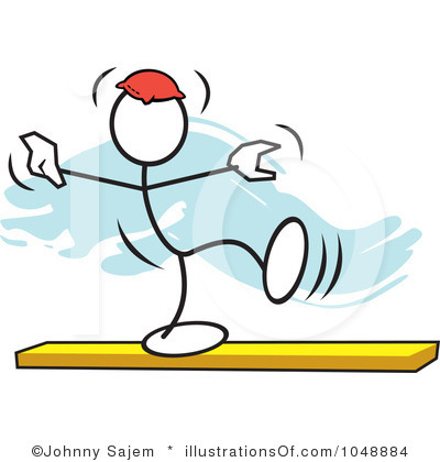 Gymnastics Clipart On Beam Clipart Panda Free Clipart
