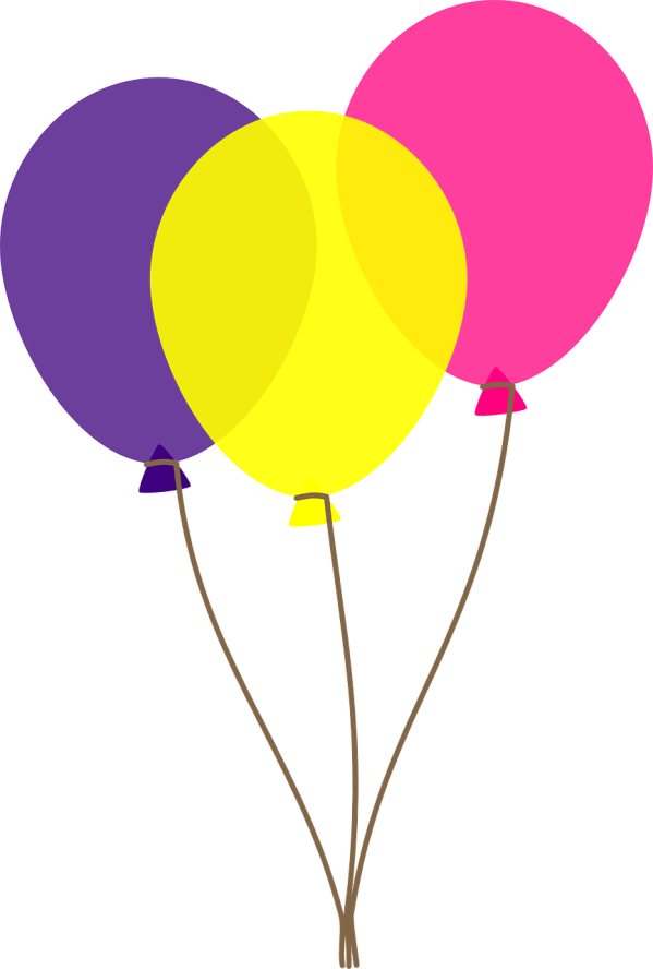 balloons clip art transparent background
