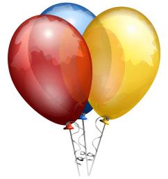 balloon clipart png [ 1100 x 1200 Pixel ]