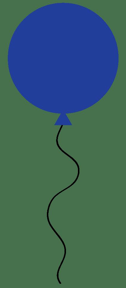 blue balloon clip art clipart