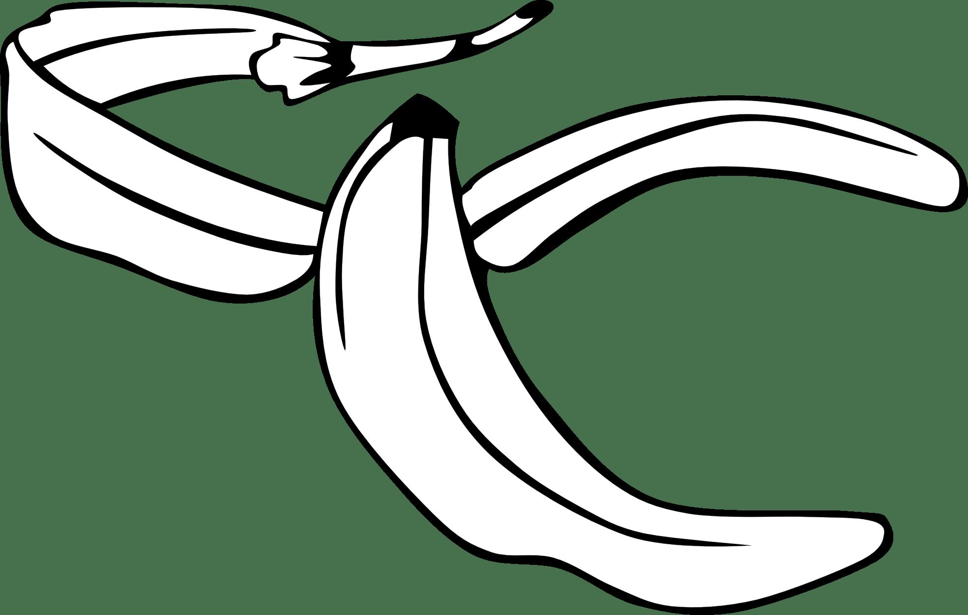 Banana Clipart Black And White Clipart Panda