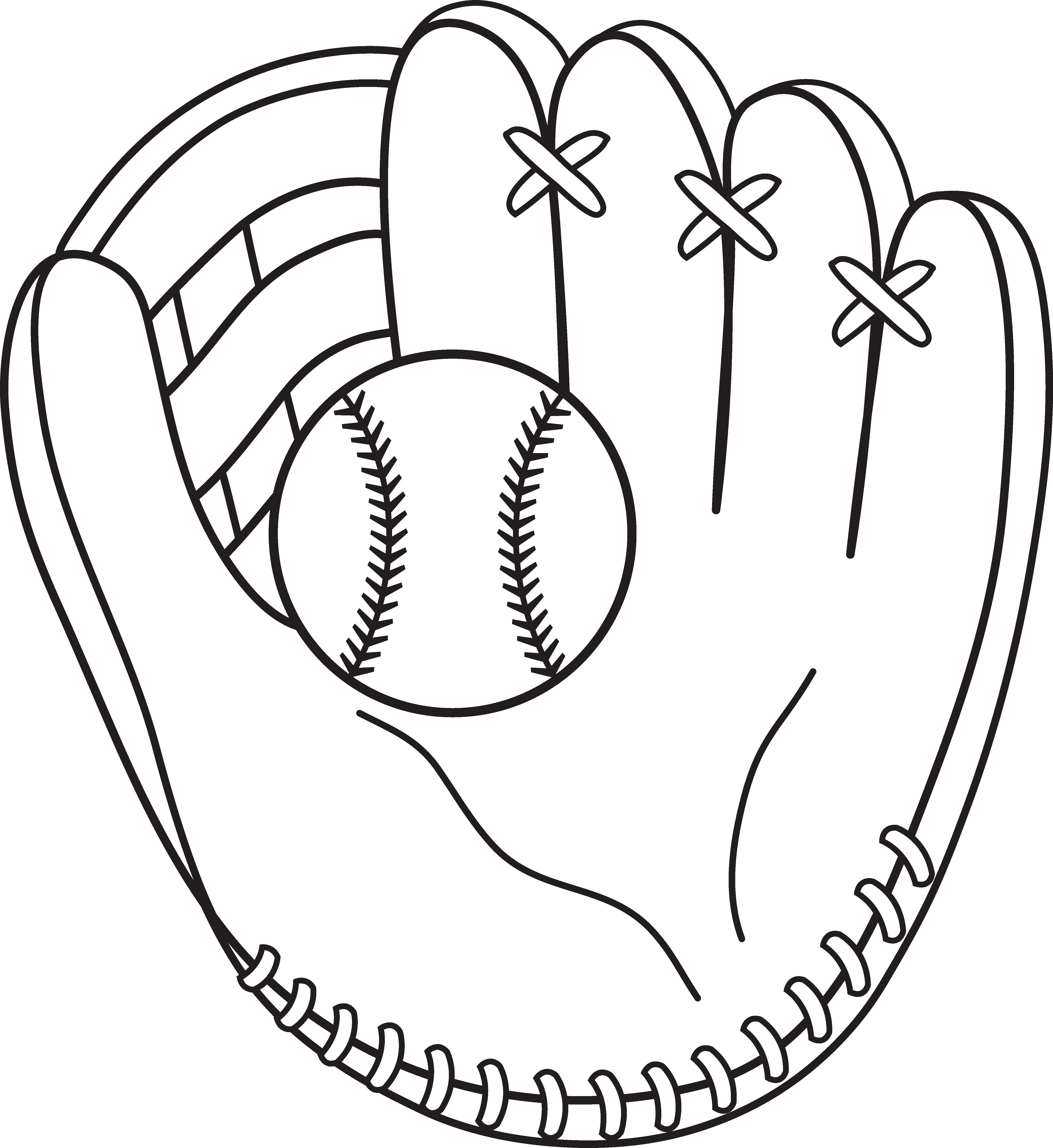 Baseball Clipart Black And White Clipart Panda