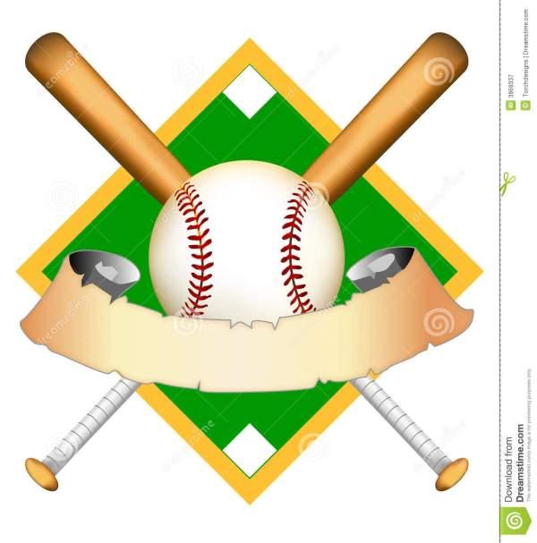 baseball infield clipart