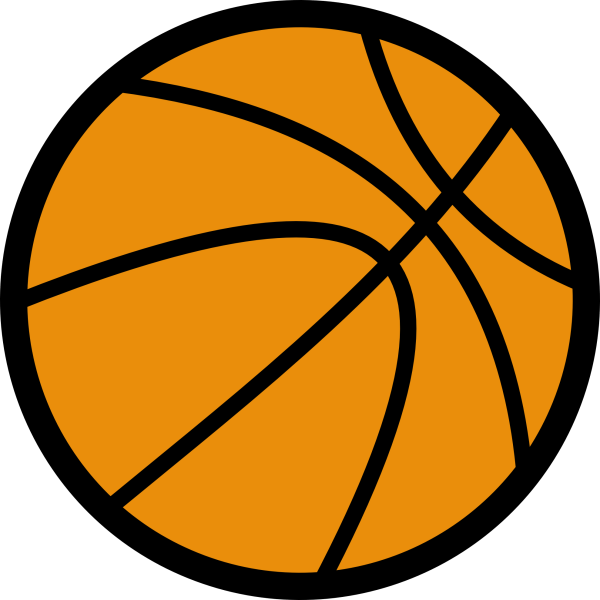 basketball clipart panda