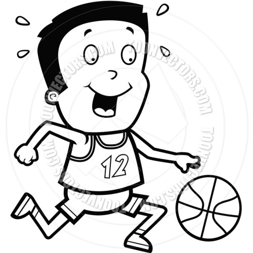 small resolution of basketball clipart black and white