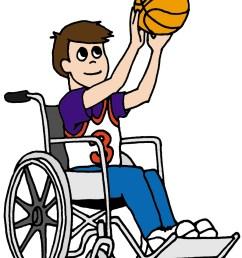 basketball clipart wheelchair basketball clipart [ 900 x 1200 Pixel ]