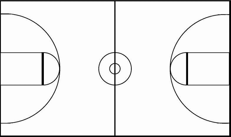 """free printable basketball court diagrams the outsiders plot diagram search results for """"blank half pdf full page"""" – calendar 2015"""