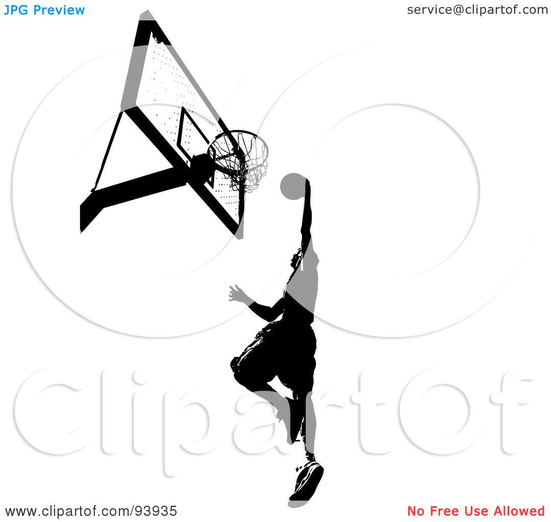 Basketball Hoop Side View Clipart Clipart Panda
