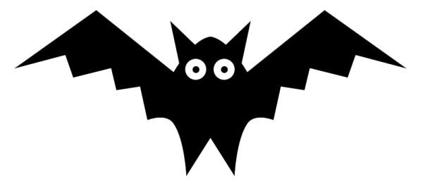 bat clipart panda - free