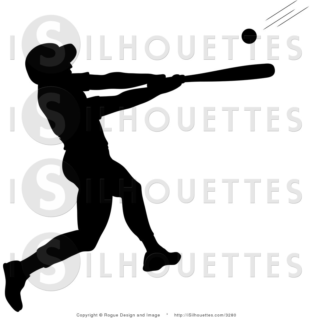 hight resolution of batter clipart