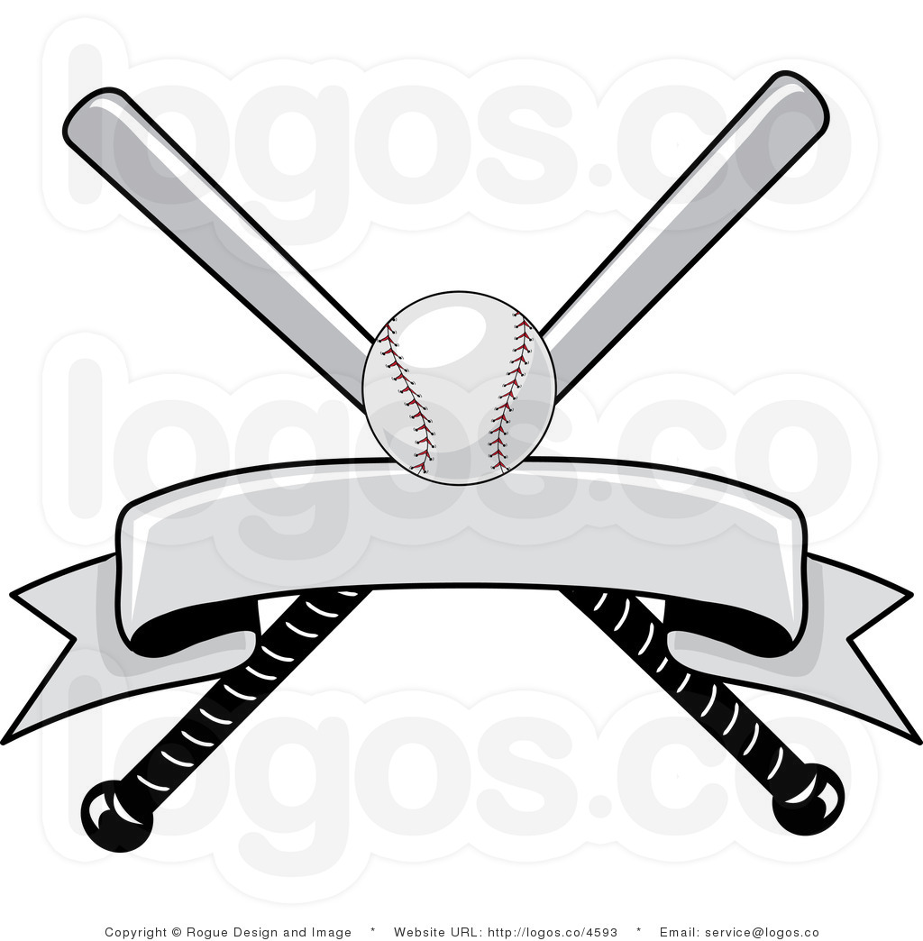 hight resolution of batting clipart