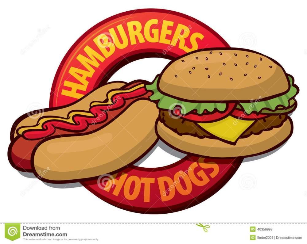 medium resolution of bbq food clipart hotdog and hamburger clipart