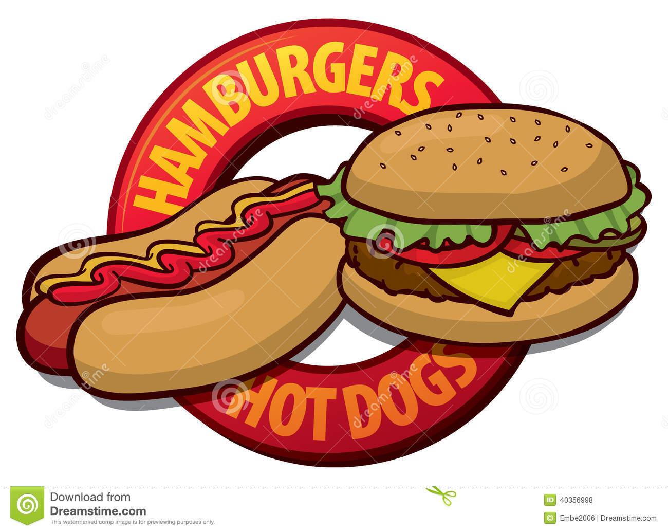 hight resolution of bbq food clipart hotdog and hamburger clipart