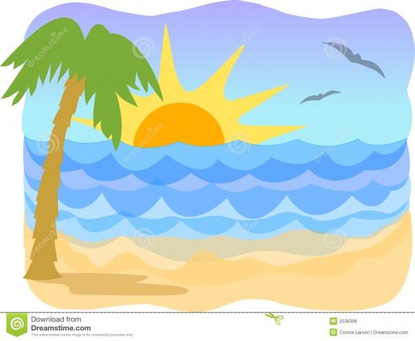 beach clip art cartoon clipart
