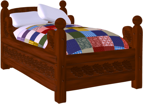 bed clip art free clipart panda