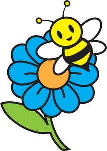 bee and honey clipart