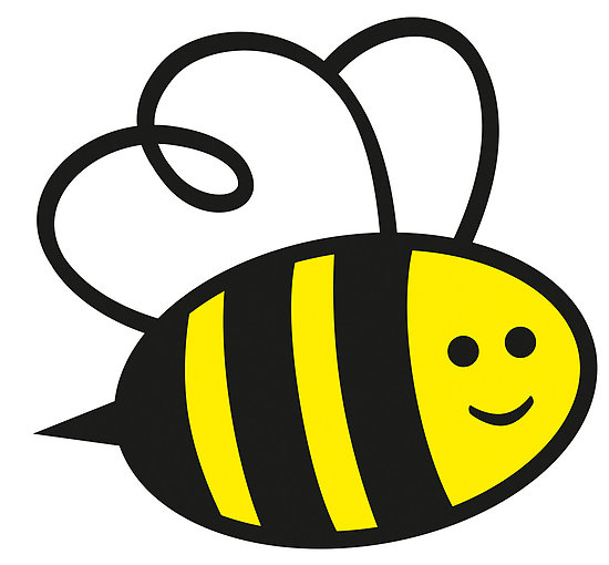 bee clipart panda - free