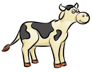 cow draw easy beef drawing clipart using animals panda